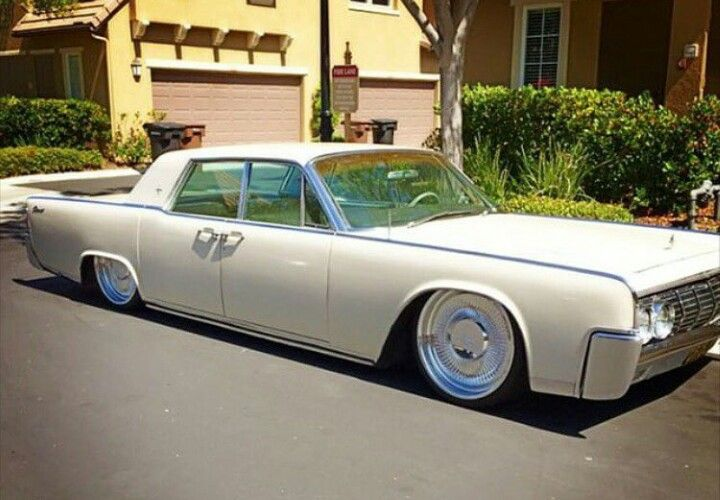64 Lincoln Continental Clean