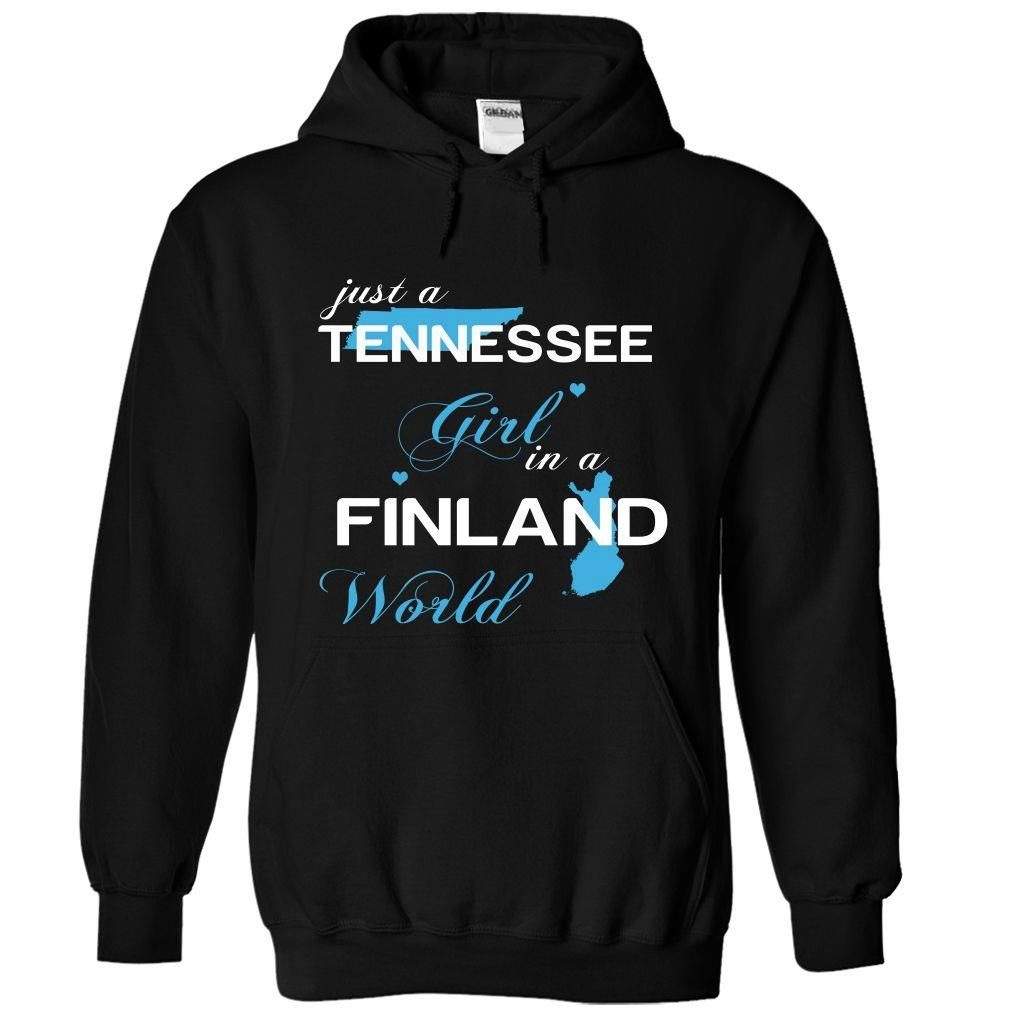 WorldBlue Tennessee-Finland Girl, Get yours HERE ==> https://www.sunfrog.com//WorldBlue-Tennessee-Finland-Girl-7101-Black-Hoodie.html?id=47756 #christmasgifts #merrychristmas #xmasgifts #holidaygift #finland #visitfinland #thisisfinland #igersfinland