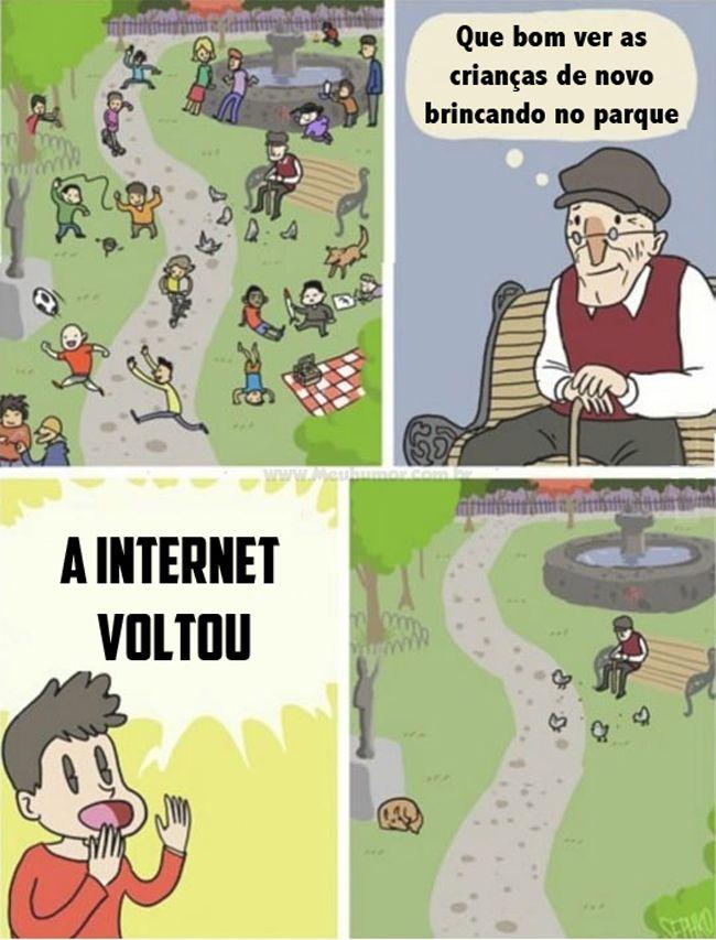 Satirinhas - Quadrinhos, tirinhas, curiosidades e muito mais! - Part 195