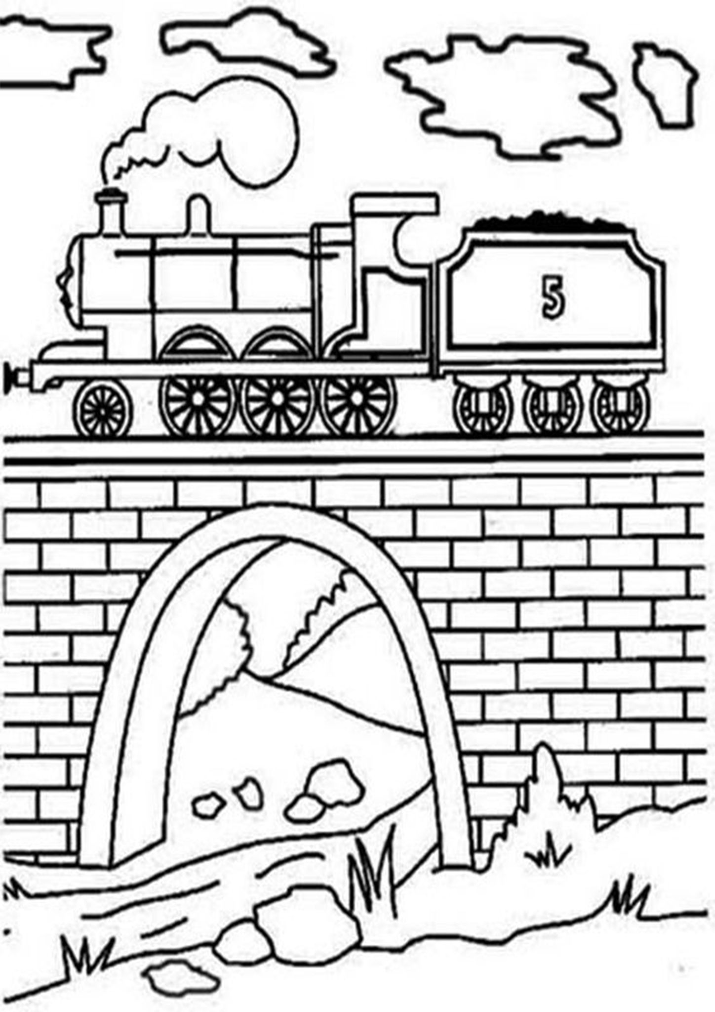 Free Easy To Print Train Coloring Pages Train Coloring Pages Train Coloring Free Kids Coloring Pages