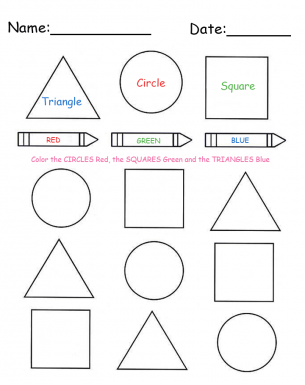 Free Printable Shape Worksheets - Garciniapremiums