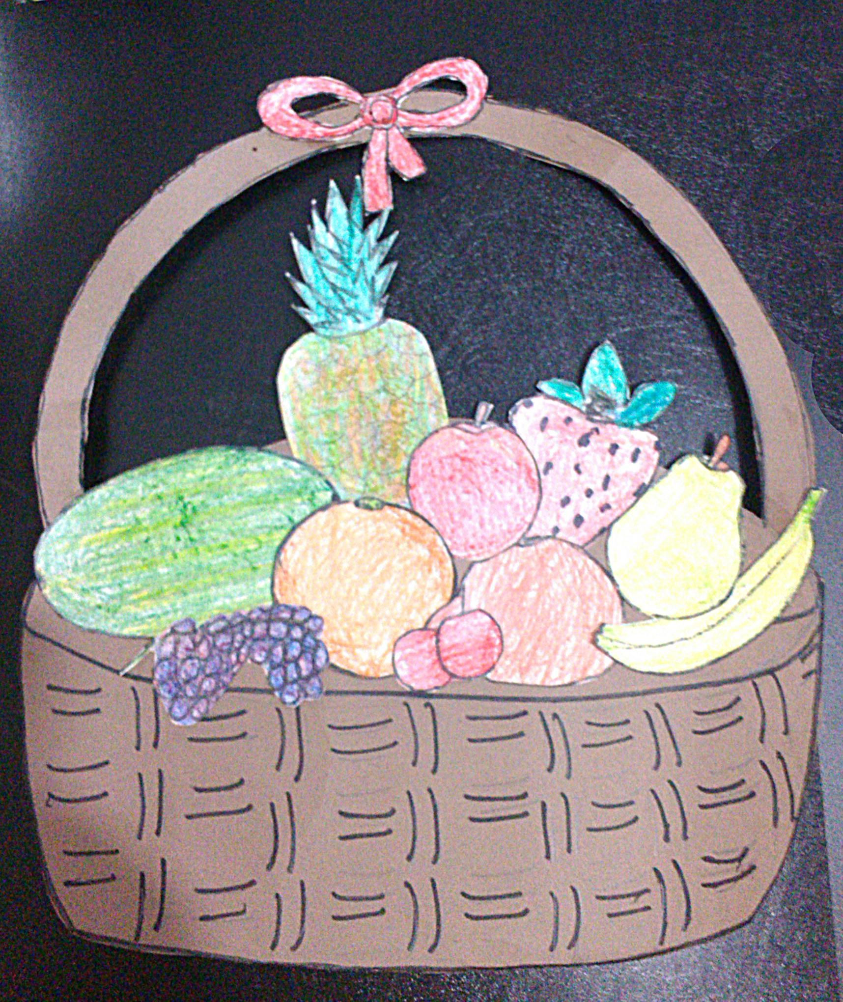 A Fruits Basket On Fruits Day