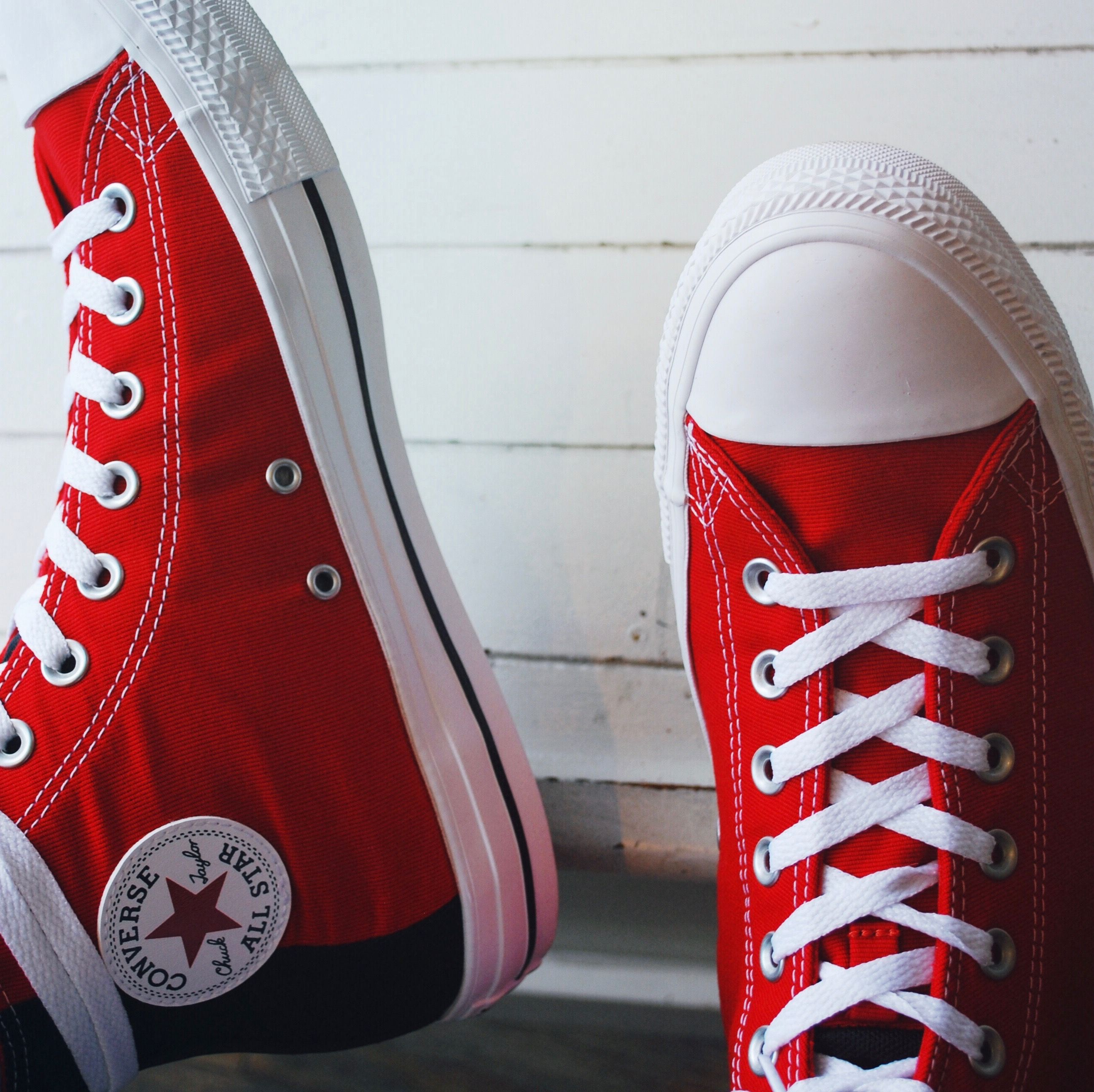 Converse Chuck Taylor All Star II Hi Tops In Red | Foot