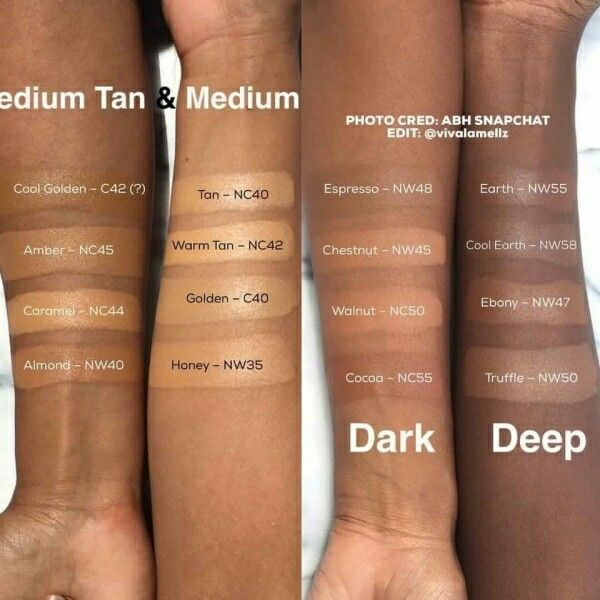 4 Makeup Brands With Shades For Darker Skin Dark Skin