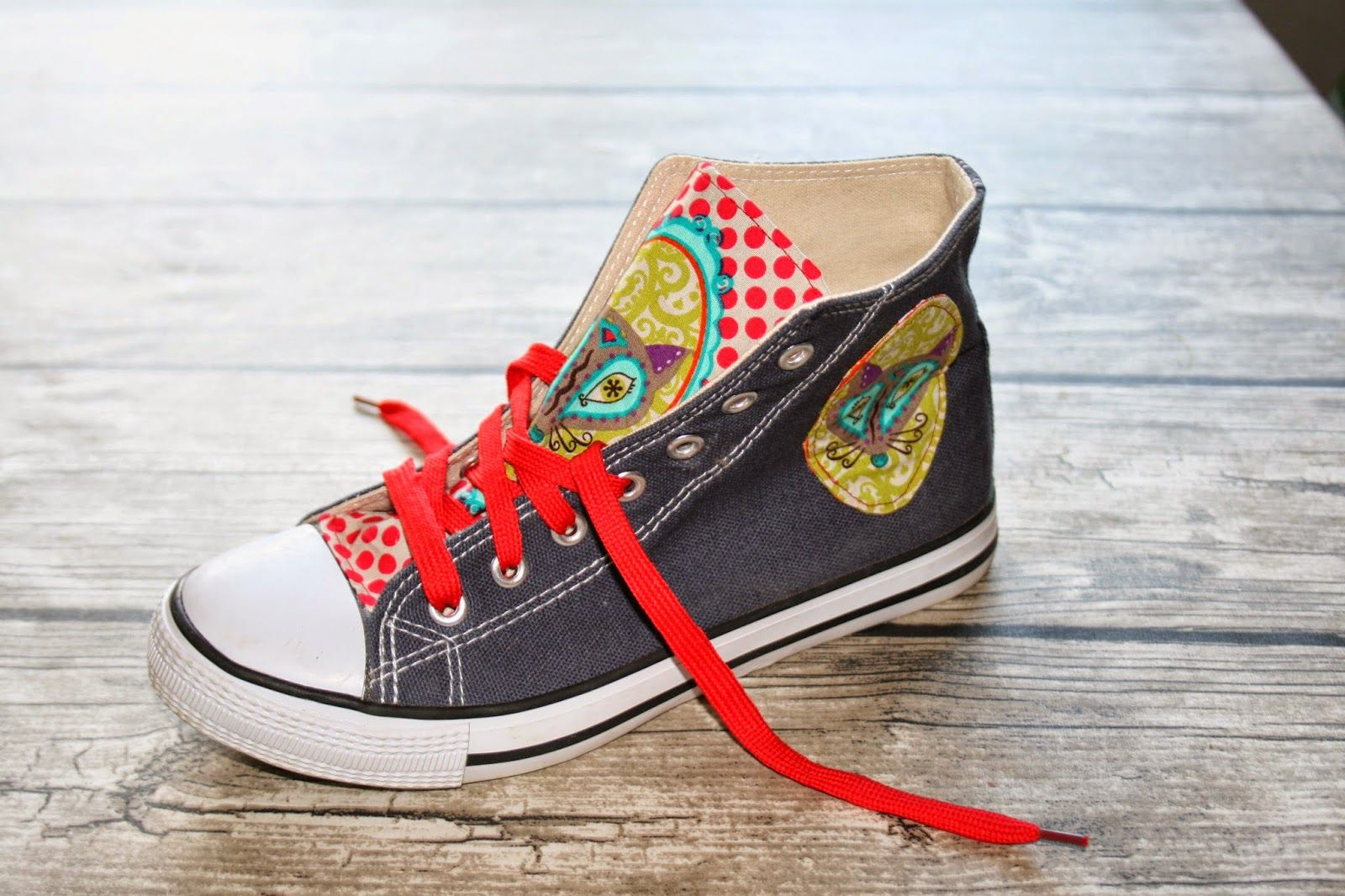 O´Malley: Pimp my canvas shoes Anleitung