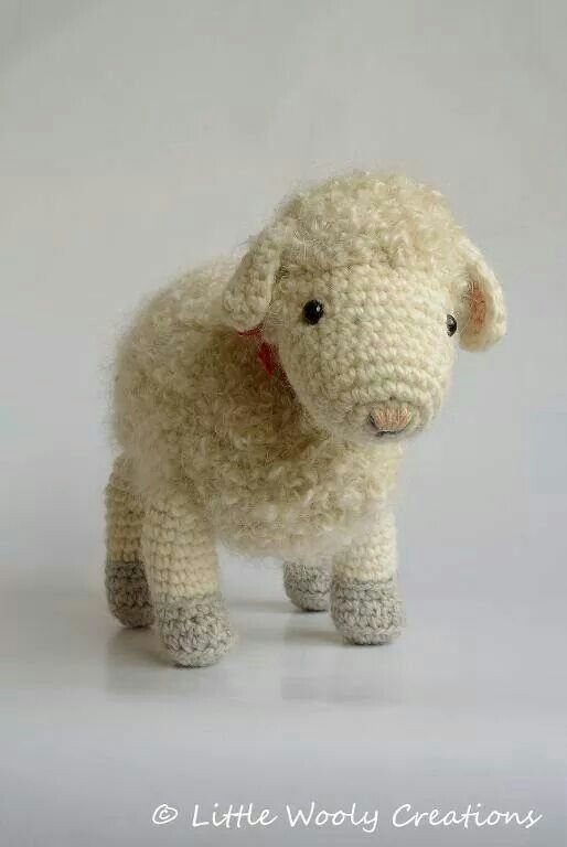 Cora the Mother Sheep by Little Wooly Creations Pattern: http ...