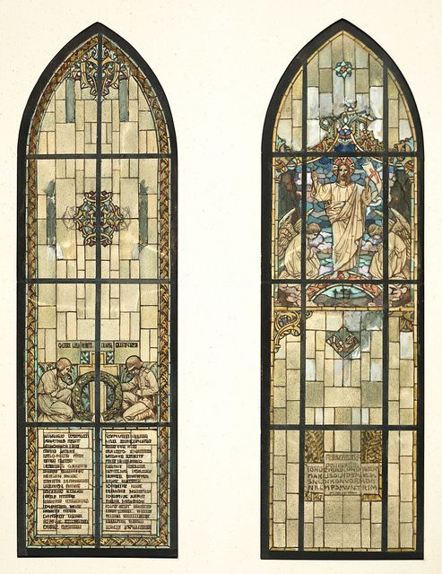 Dollhouse Miniature Stained Glass Creating New Church