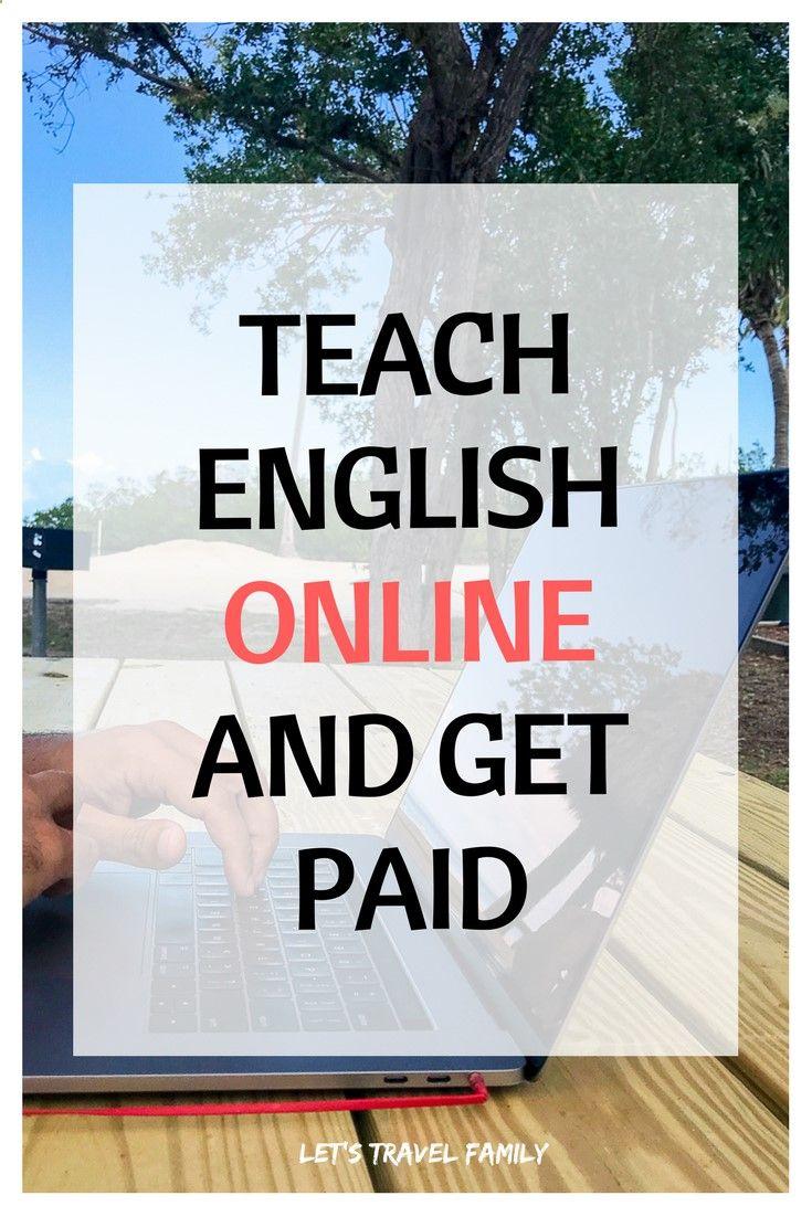 Teach English Online and Get Paid. Teach English online jobs. ESL ...
