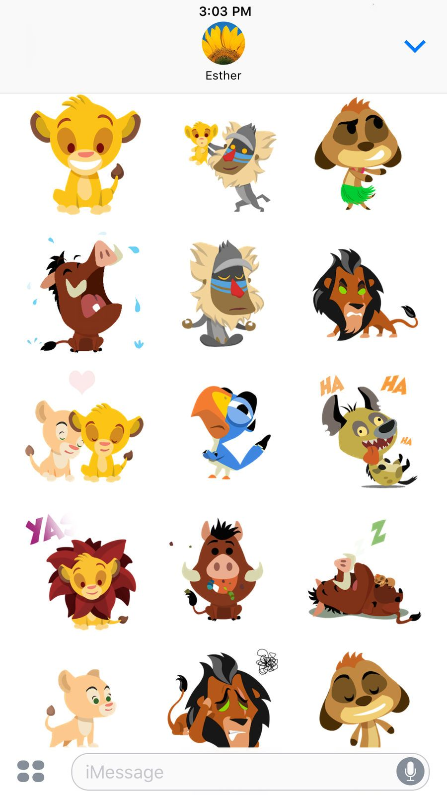 Disney Stickers The Lion King On The App Store Draws