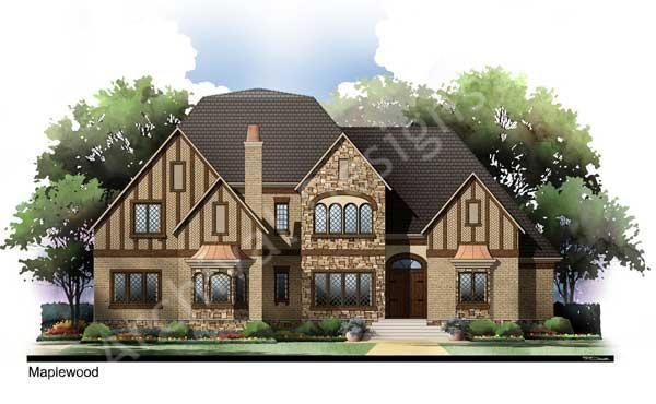 Maplewood House Plan Home Plans By Archival Designs Country Style House Plans House Plans Tudor House