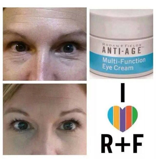 Rodan Fields Multi Function Eye Cream Before And After One Of