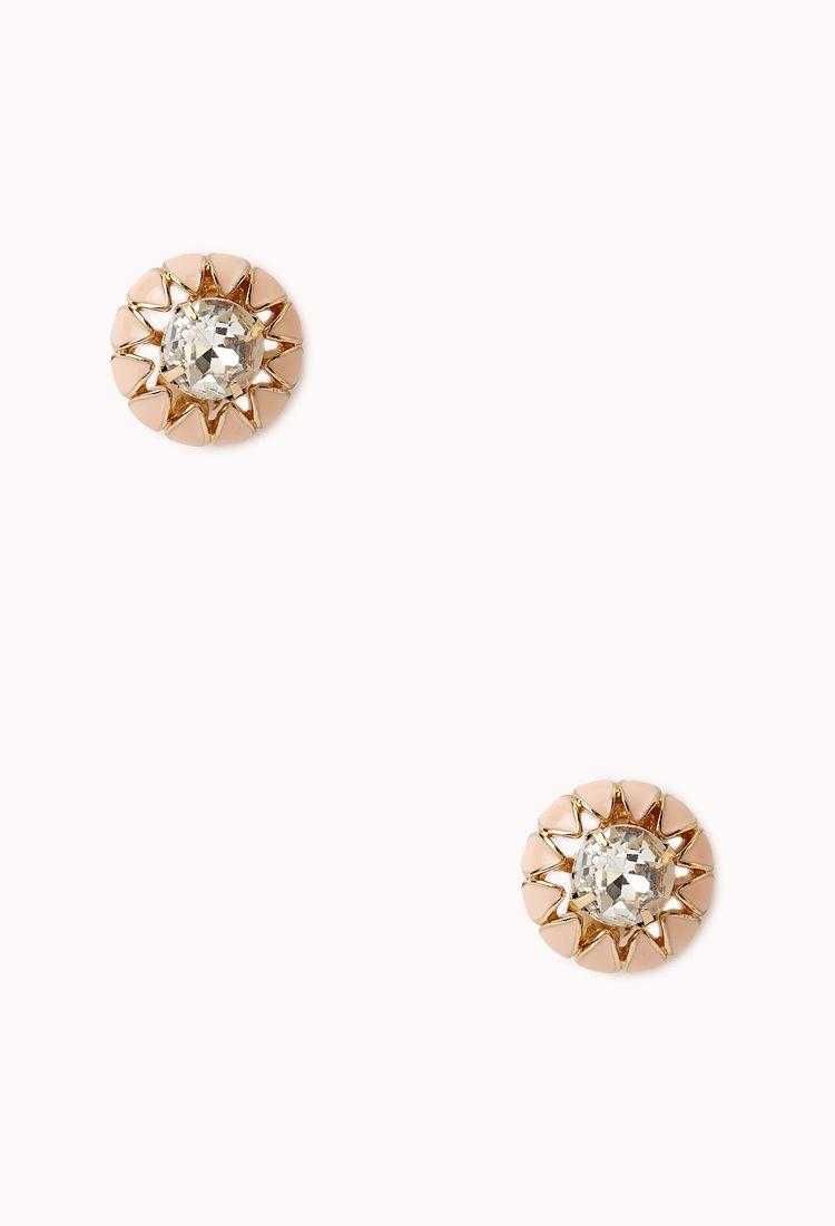 Fancy Clip On Earrings Forever21 1000128086