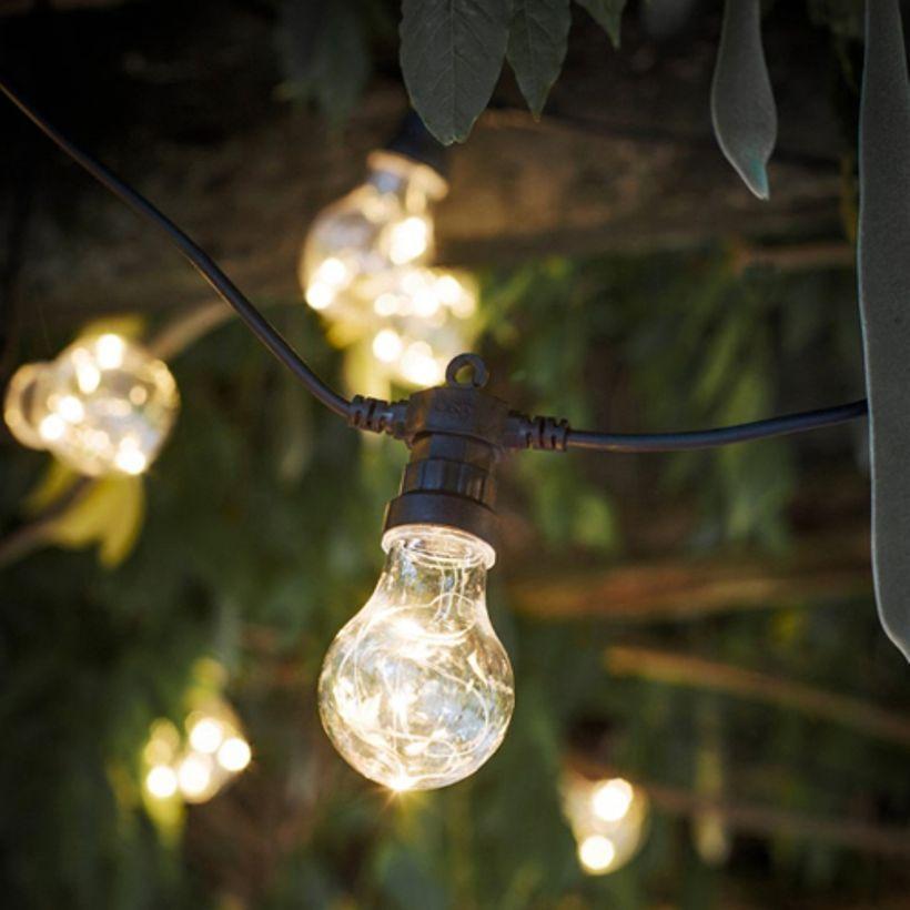 Guirlande lumineuse 20 ampoules guinguette Festoon
