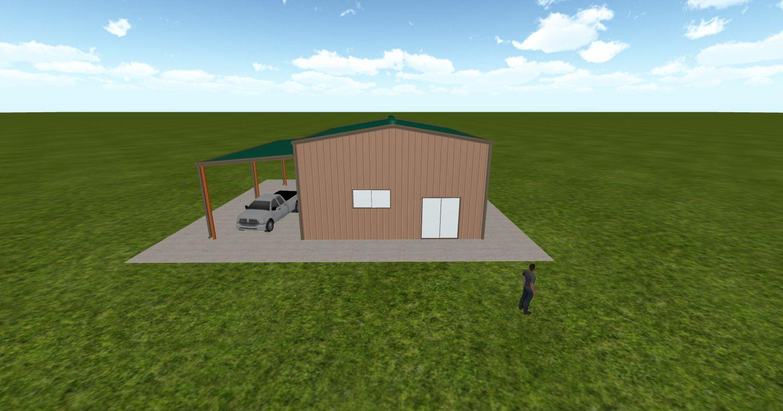 Cool 3D #marketing http://ift.tt/2gUsqM4 #barn #workshop #greenhouse #garage #roofing #DIY