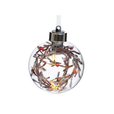 Bombka Dekorowana 8 Cm Mix Z Oswietleniem Na Baterie Bombki I Ozdoby Choinkowe W Atrakcyjnej Cenie W Sklepach Leroy Merl Christmas Bulbs Bulb Holiday Decor