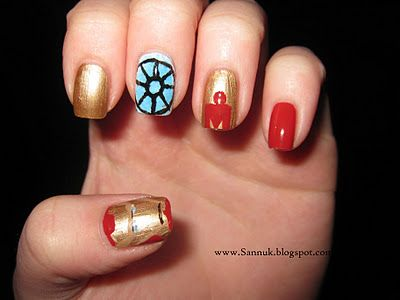 Iron Man nails · Ongles De L\u0027homme De FerJolis