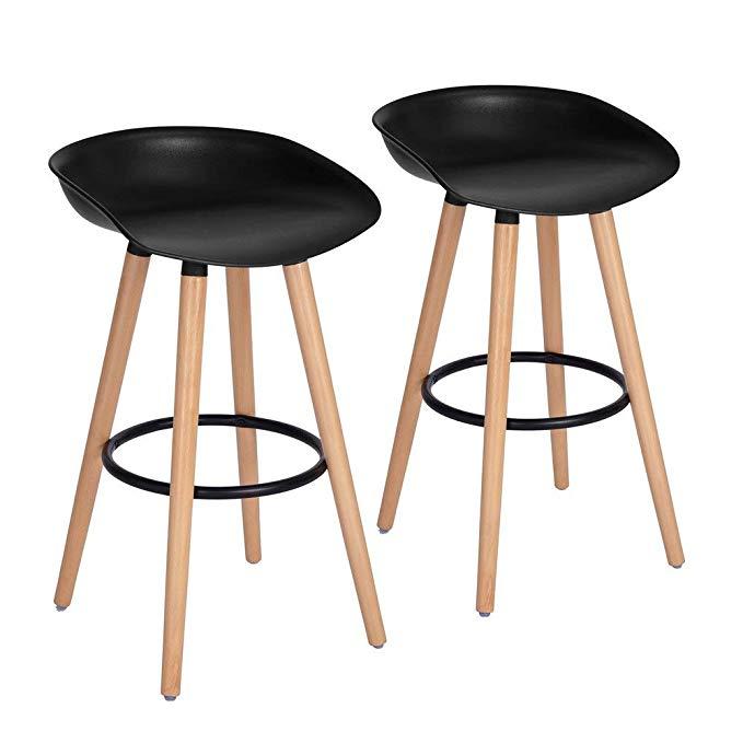 Amazon Com Furniturer Bar Chair Pub Bar Height Barstool Modern