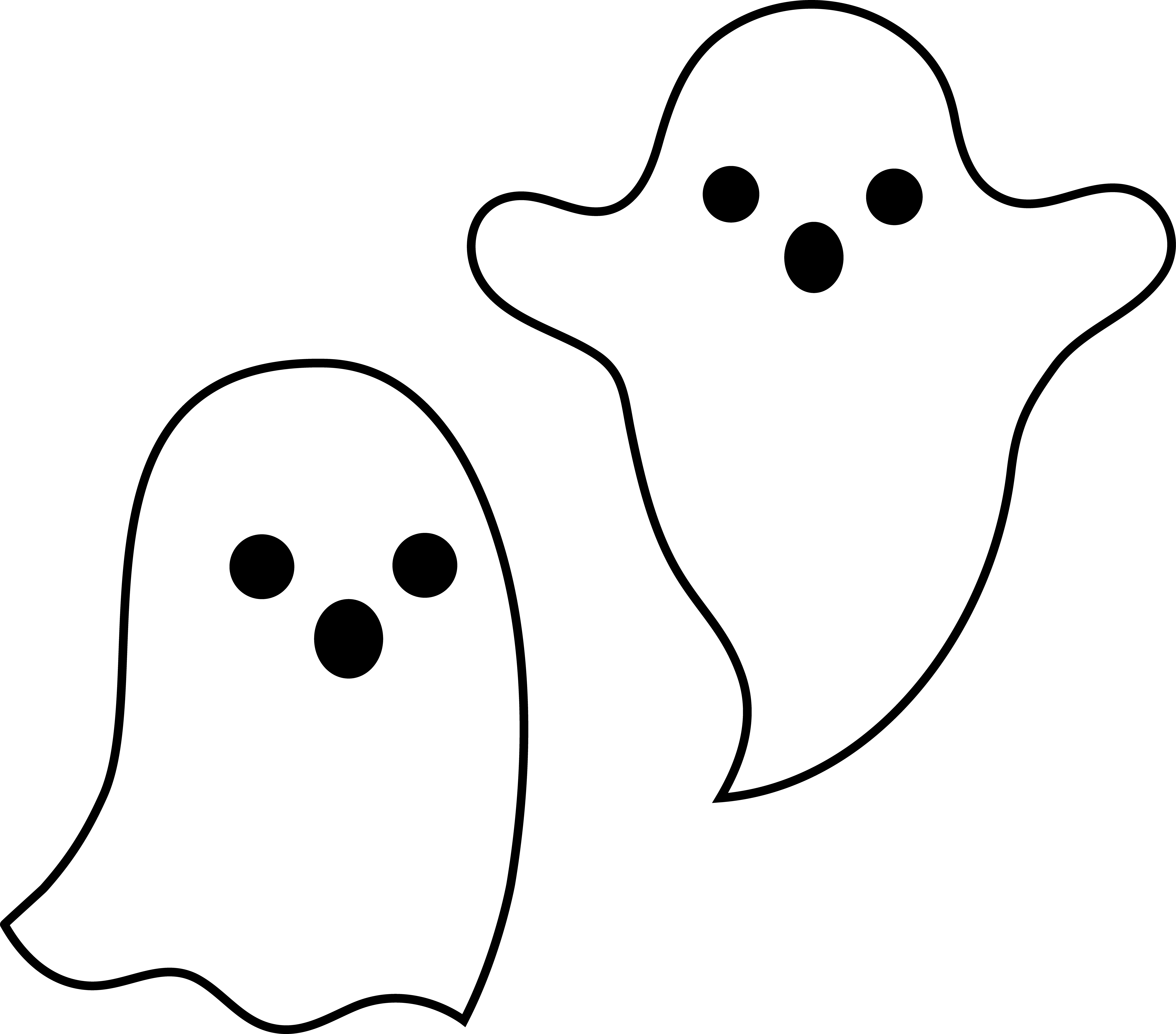 Spooky Halloween Spirits Cute Ghost Ghost Images Ghost Crafts