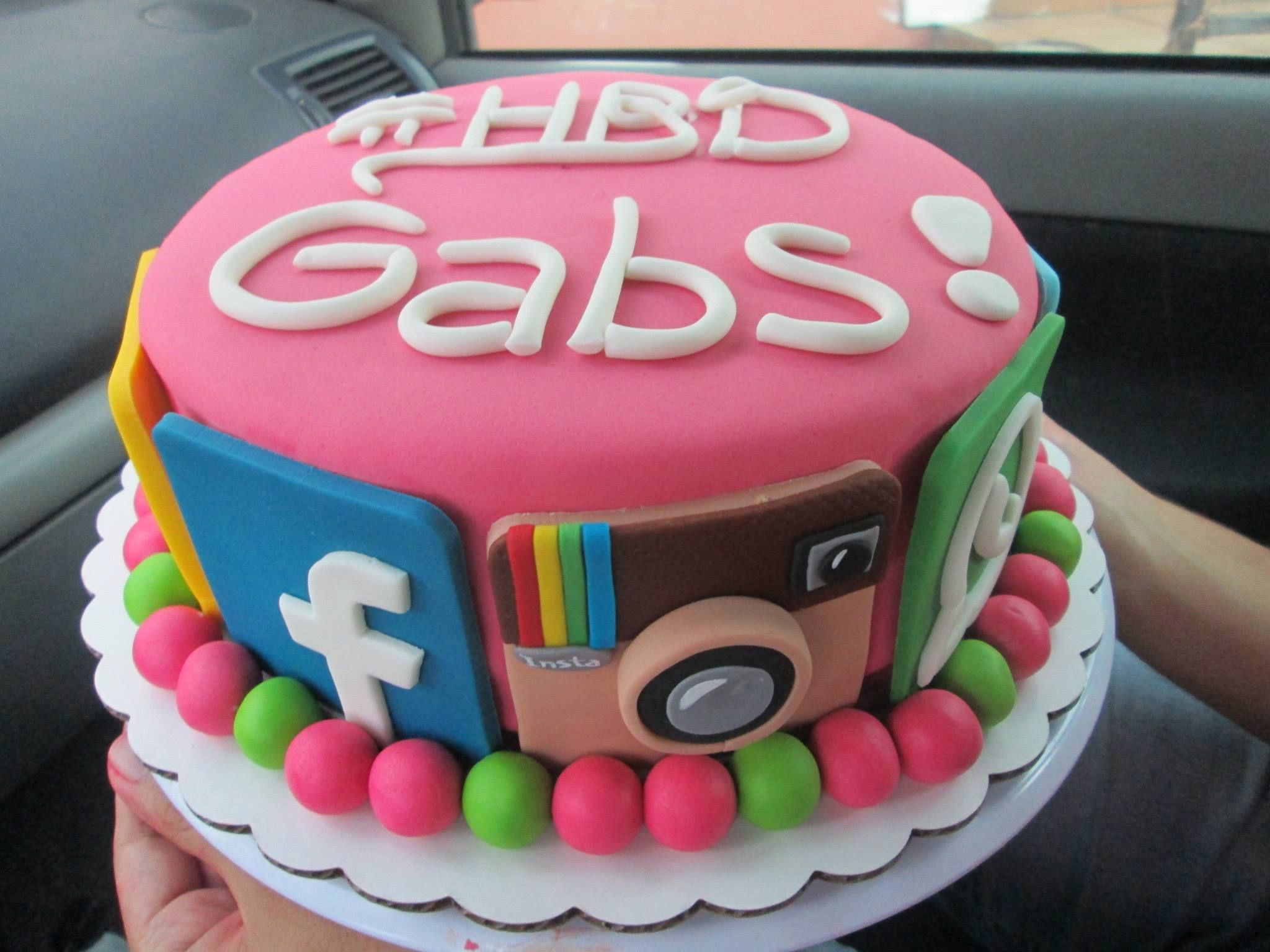 Social Media Cake Boy 16th Birthday Cakes13th