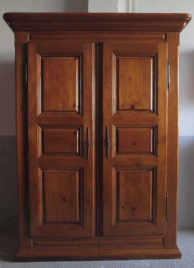Ropero o armario r stico acabado r stico ouuntrystyle for Closet rusticos