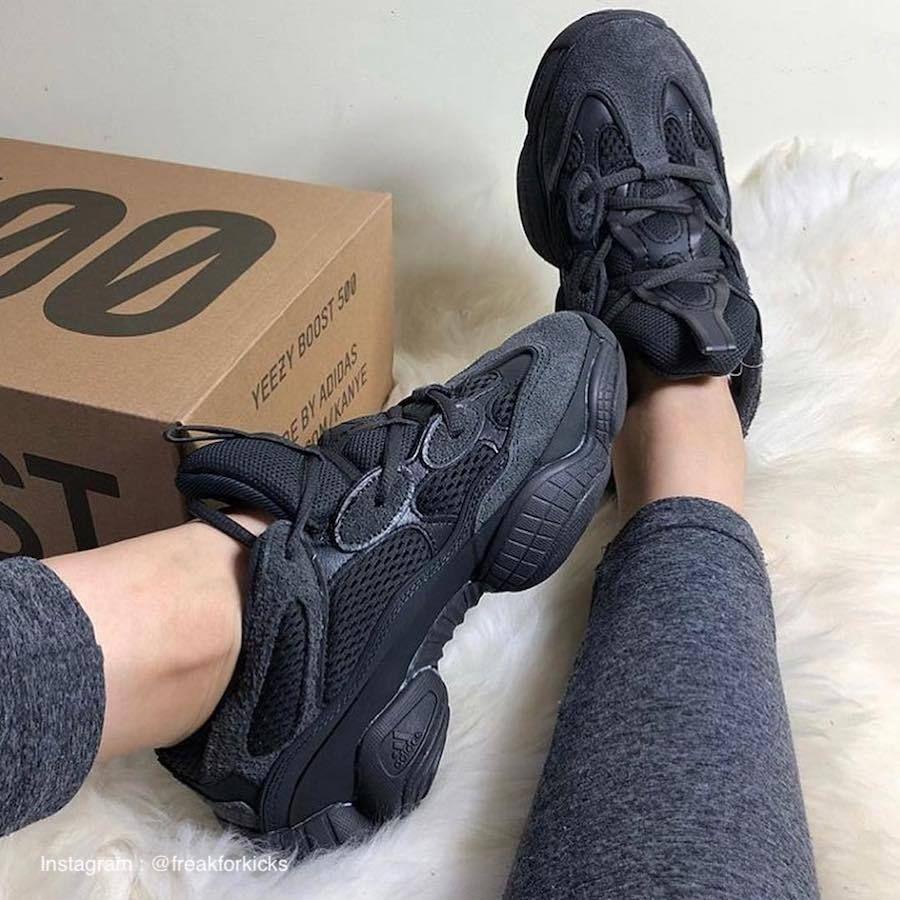 adidas yeezy 500 noir femme