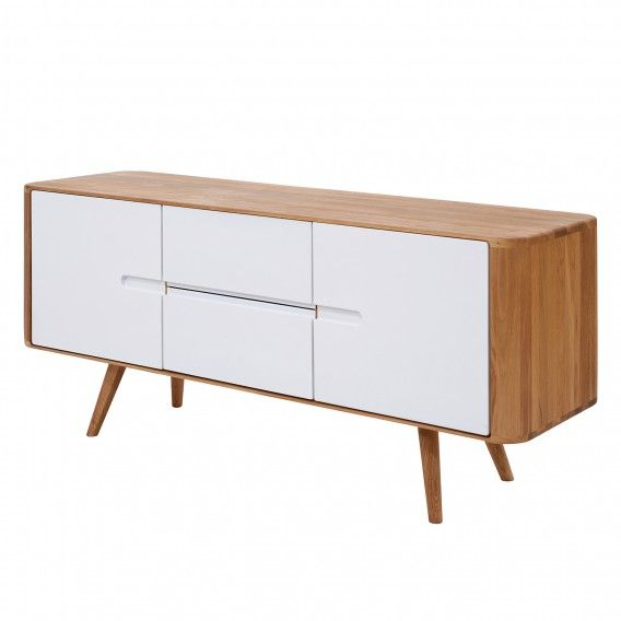 Sideboard Loca I - Wildeiche massiv - Fashion For Home Möbel WZ