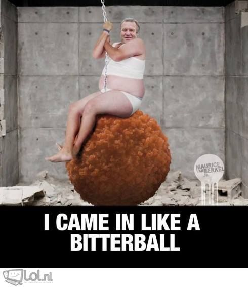 [Humor] I came in like a..