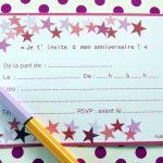 Invitation Anniversaire De Mariage 40 Ans Gratuite à Imprimer