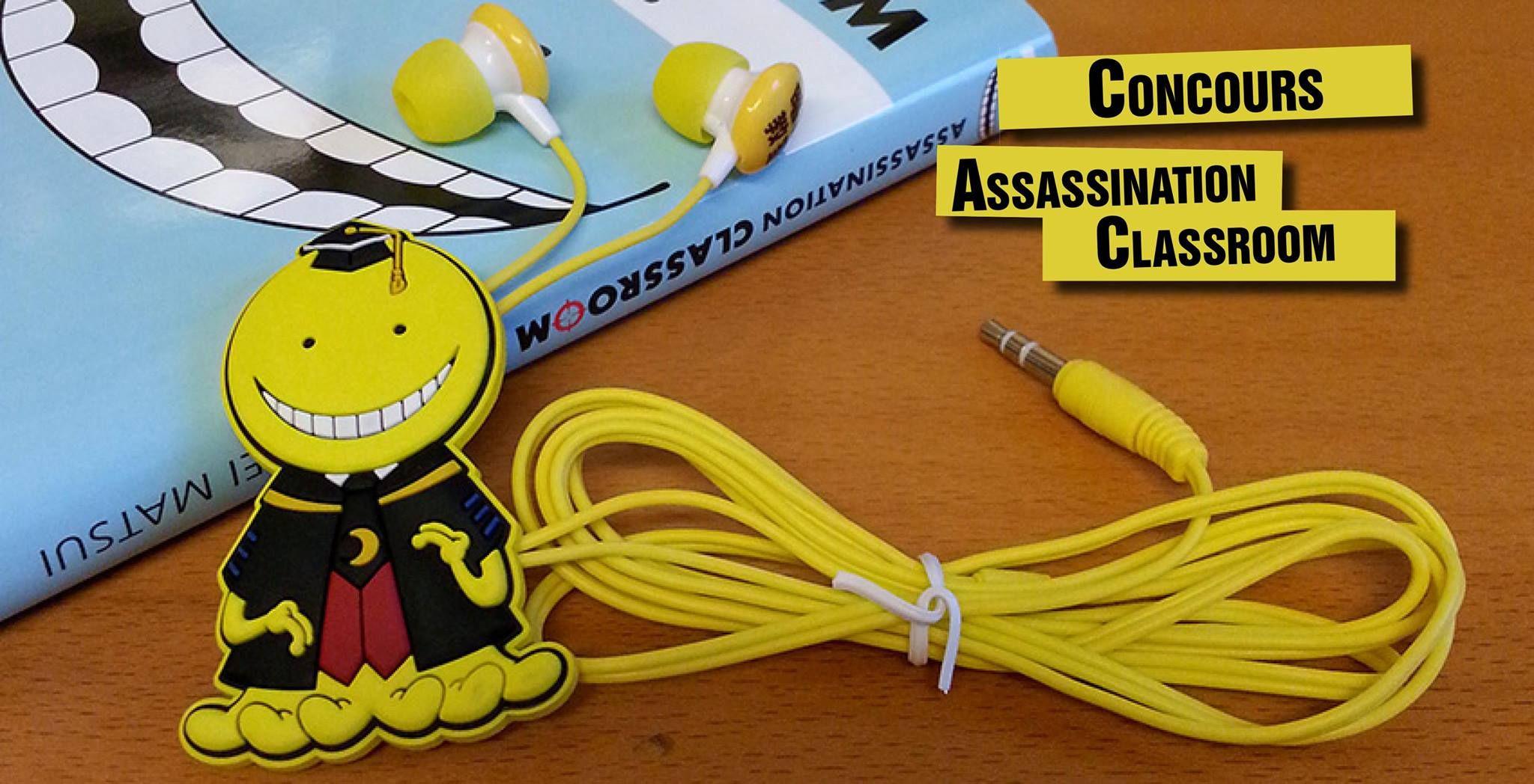 Concours Ecouteurs Assassination Classroom Assasination Classeroom Concours Otaku