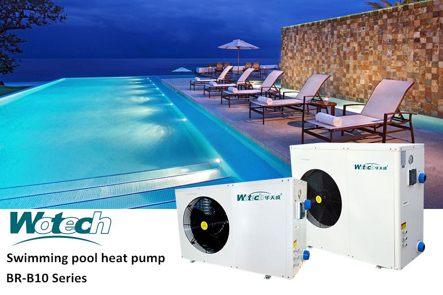 Wotech Swimming Pool Heatpump Can Heat And Cool The
