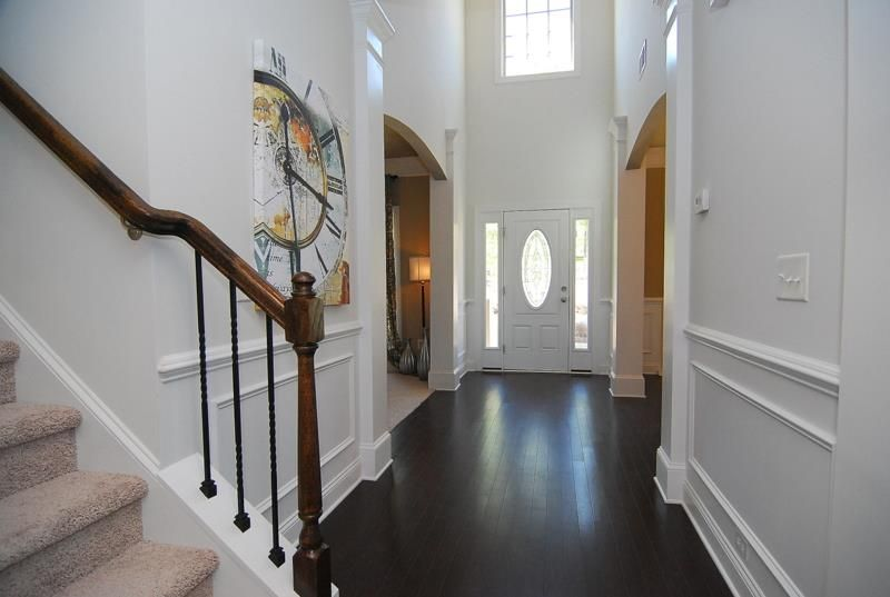 Model Home Foyer Pictures : Ballentine model home foyer manors at white knoll pinterest