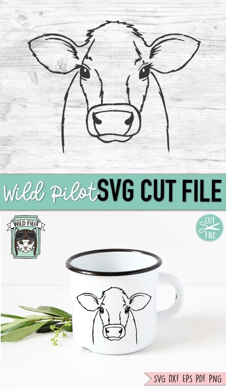 Cute Cow Svg : Files, Vector