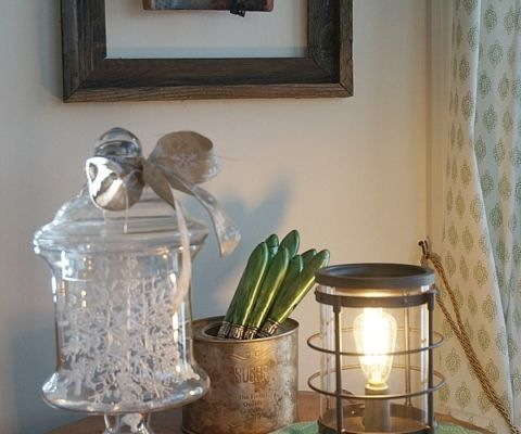 Winter kitchen decorating ideas. Edison scentsational burner