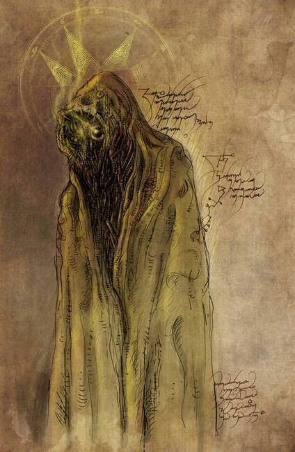 Hastur The King In Yellow The Yellow Spirit That Leads Artists