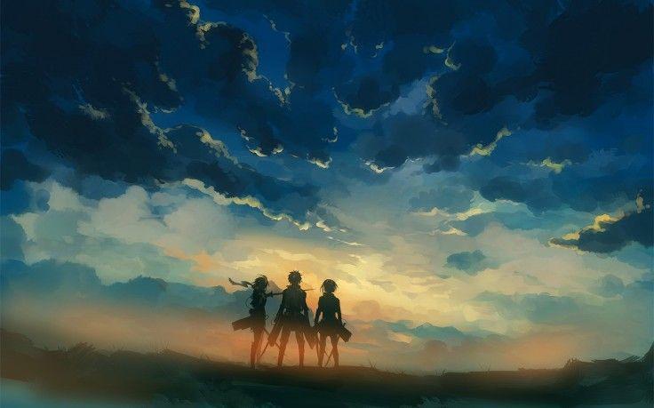 Shingeki No Kyojin Anime Hd Wallpaper Desktop Background Attack On Titan Anime Attack On Titan Art Titans Anime