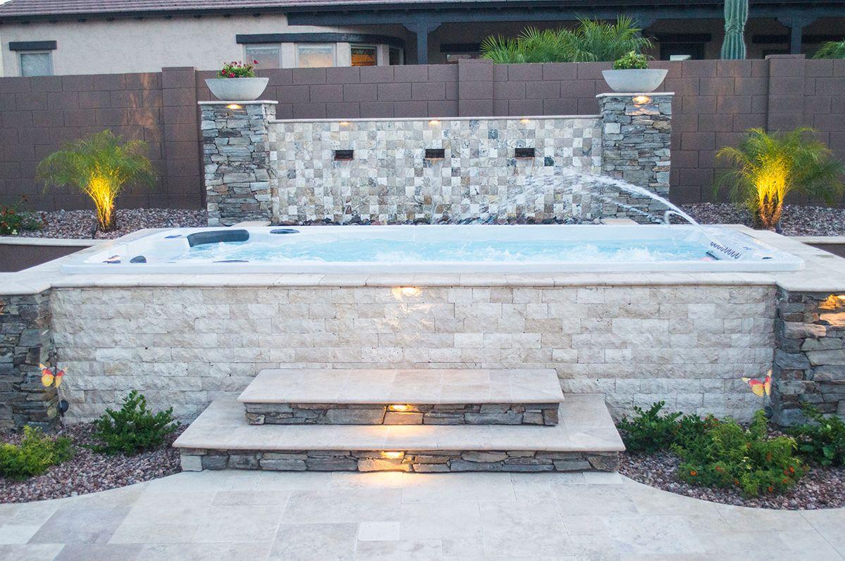 Swim Spas Avec Images Piscine Et Jardin Maison Petite Piscine