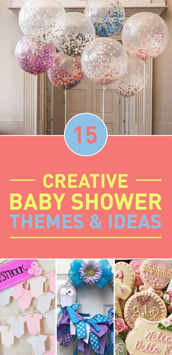 Baby Shower Decorations You Can Make ~ Creative baby shower themes ideas