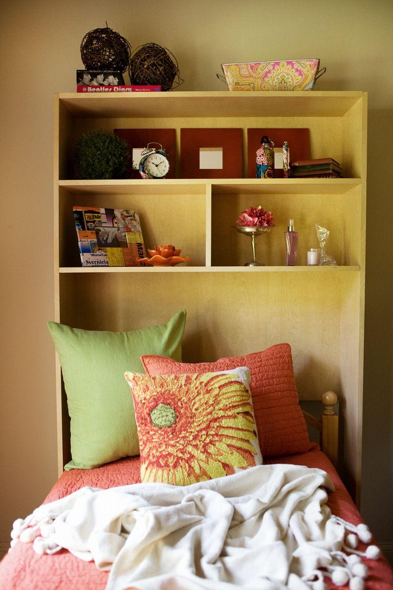 Dorm Room Headboards: Custom Dorm Shelving Auburn University