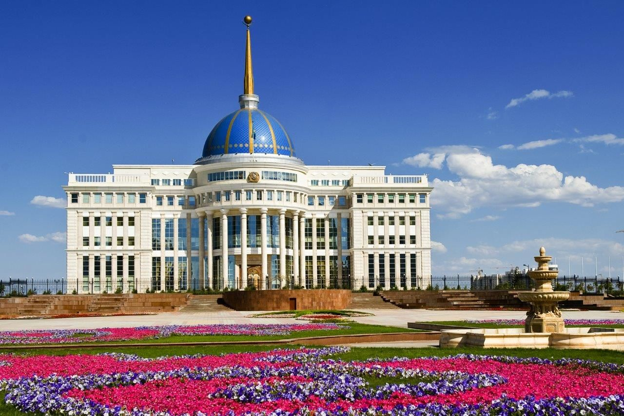 Presidential Palace Astana Kazakhstan Reisebilder Reisen Bilder