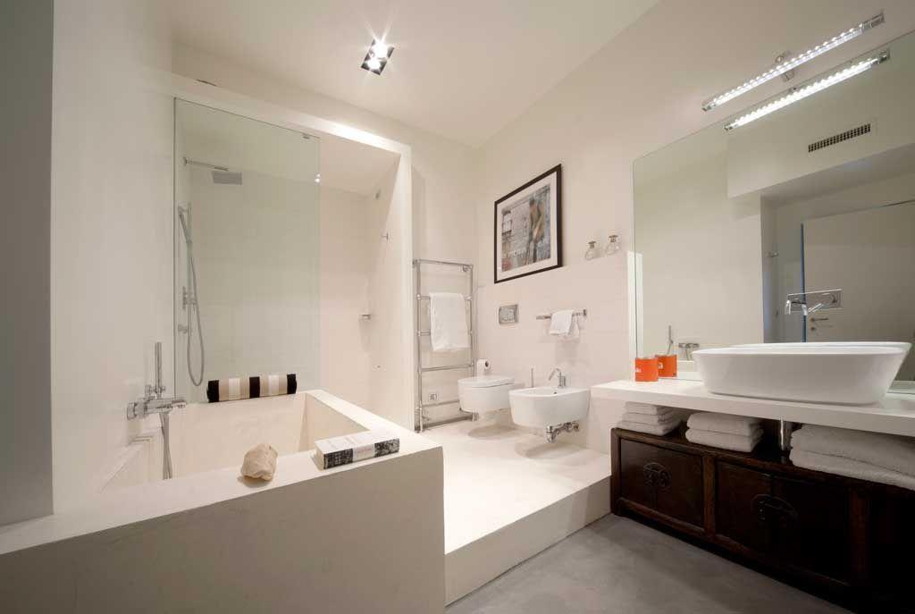 Microcemento bagno ~ Vasca bagno doccia pavimento microcemento bagno resina e