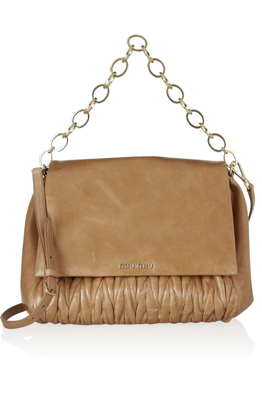 Miu Miu Matelassé leather shoulder bag   My Style   Pinterest   Miu ... ae759114ea