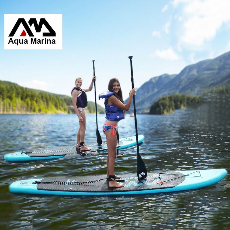 9d37b1b40 330 75 10 cm AQUA MARINA 11 pieds VAPEUR gonflable planche de surf stand up  paddle board gonflable planche de surf sup paddle bateau