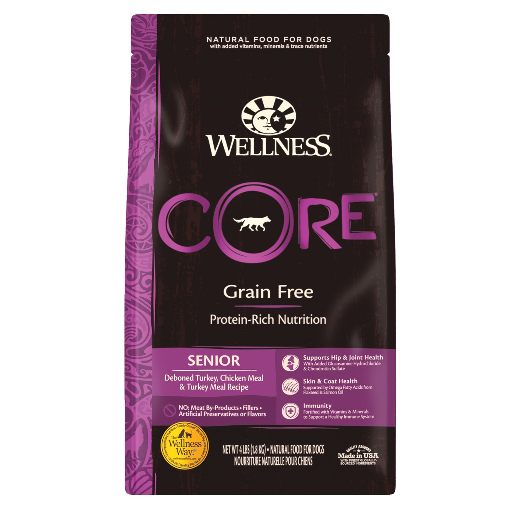 Wellness® CORE® Senior Dog Food Natural, Grain Free