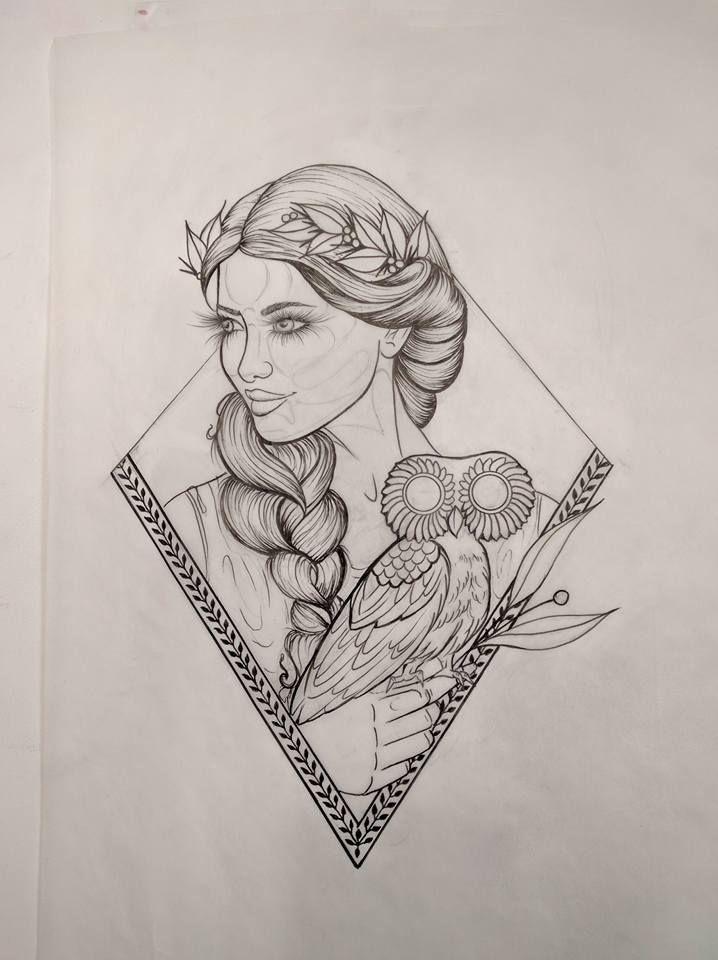 Athena Tattoo By Jeana S Studio Yeg Goddess Tattoo