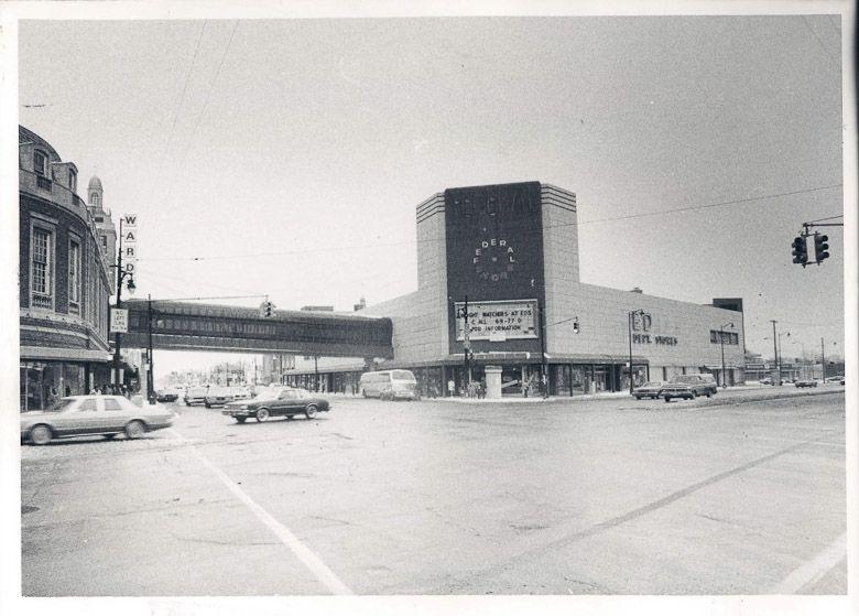 Mammoth shopping center federals department store