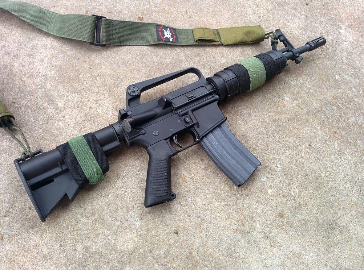 Ar 15 Sbr Clone Of An Israeli Defense Force Colt Car 15 Guns