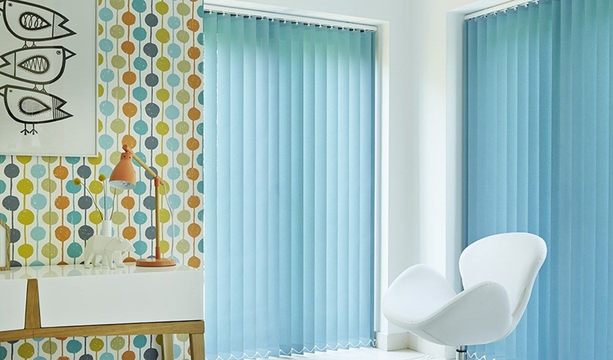 Vertical blinds colours and fabrics | Hillarys | Kitchen Blinds ...