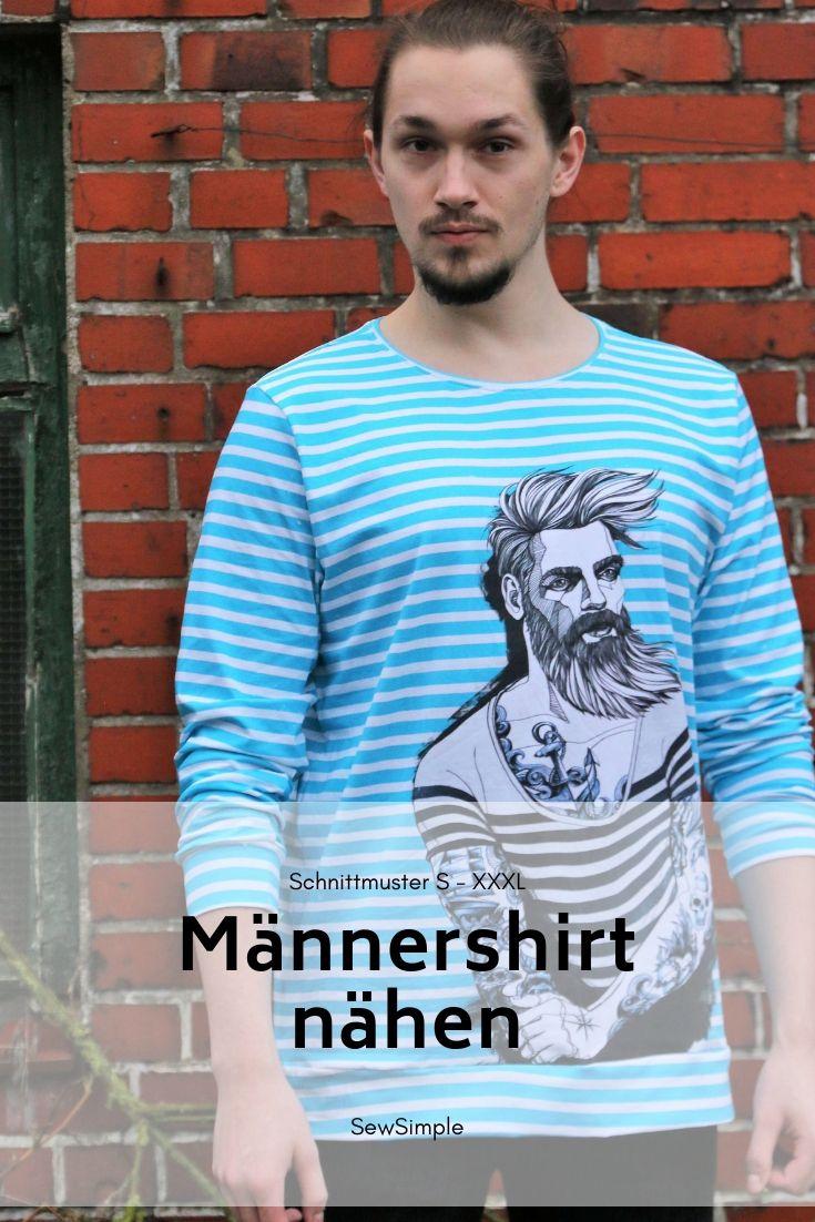 "Photo of Männershirt nähen | Schnittmuster ""Miles"" – auch für Anfänger"