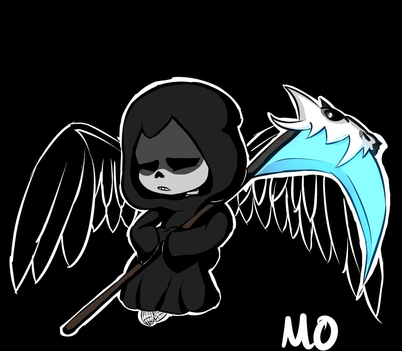 Toolazytodoitnow Anime Vs Cartoon Undertale Drawings Grim Reaper Cartoon