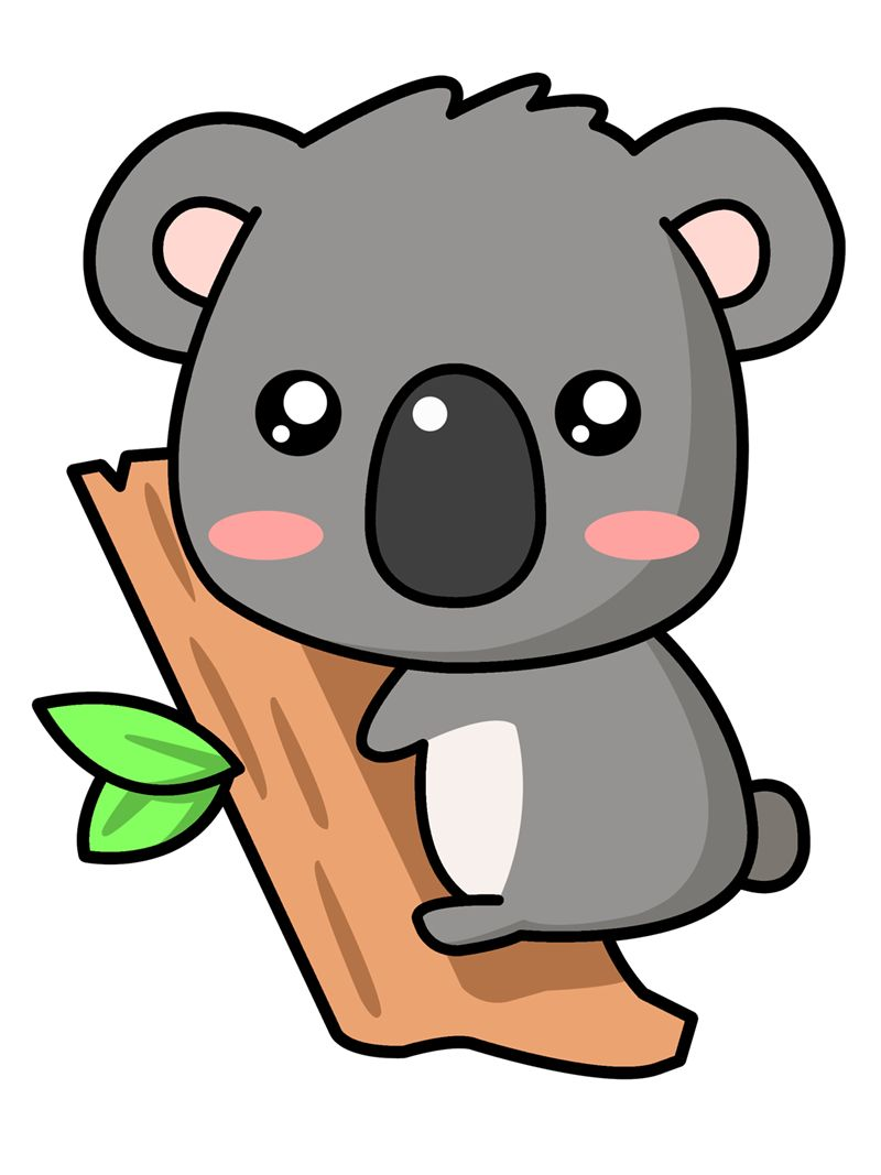A Cute Koala Koalas Pinterest Cartoon Clip Art And Art